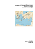 Karen Rohn - Study & field investigation: Root antecedents of the Energetical Discipline and Ascesis in the Occident Asia Minor, Crete and Aegean Islands