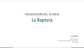 Karen Rohn - Presentation The Rupture